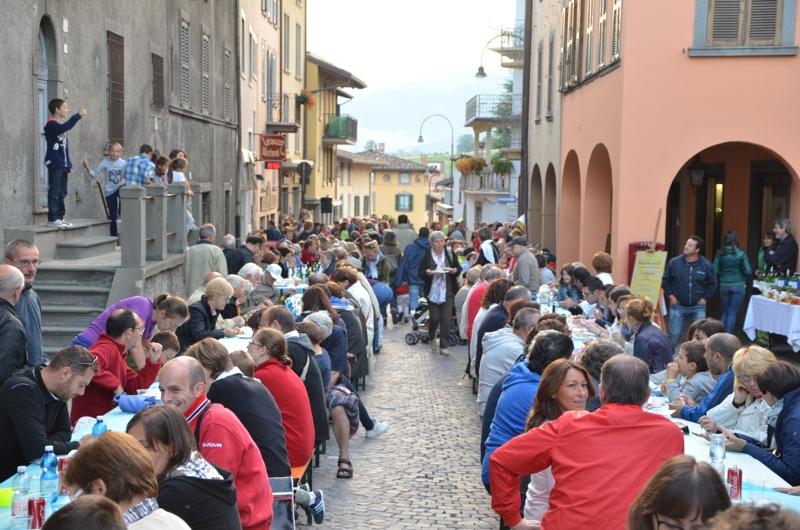 Maltempo, a Rovetta salta la Sagra dei bertù
