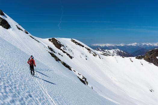 Skialp, dalla Val Biandino al Tre Signori