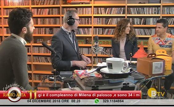 La staffetta ospite a Radio Alta