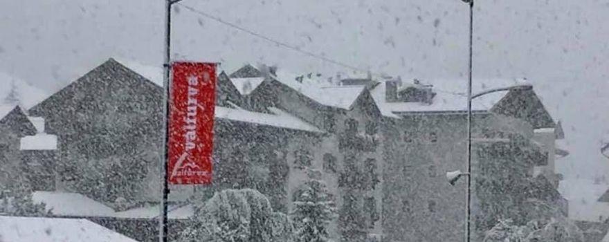 Neve: cime imbiancate, più difficile la situazione di Santa Caterina