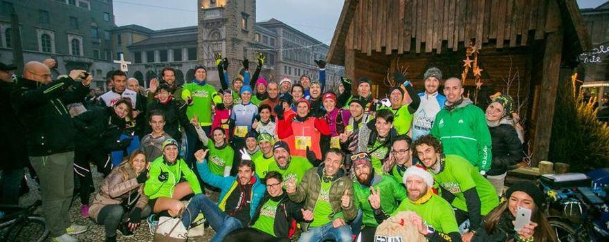 We Run for Christmas, staffetta di beneficenza a Bergamo