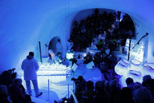 Ice Music Festival, musica di ghiaccio. Il video