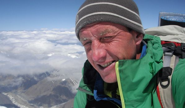 Denis Urubko in invernale sul Broad Peak