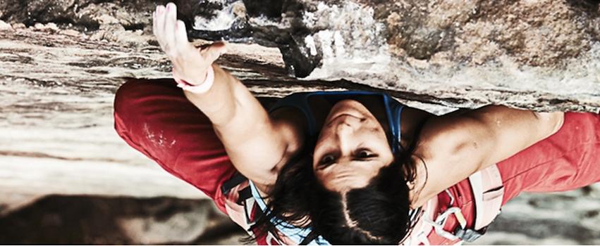 Incontro con la climber iraniana Nasim Eshqi