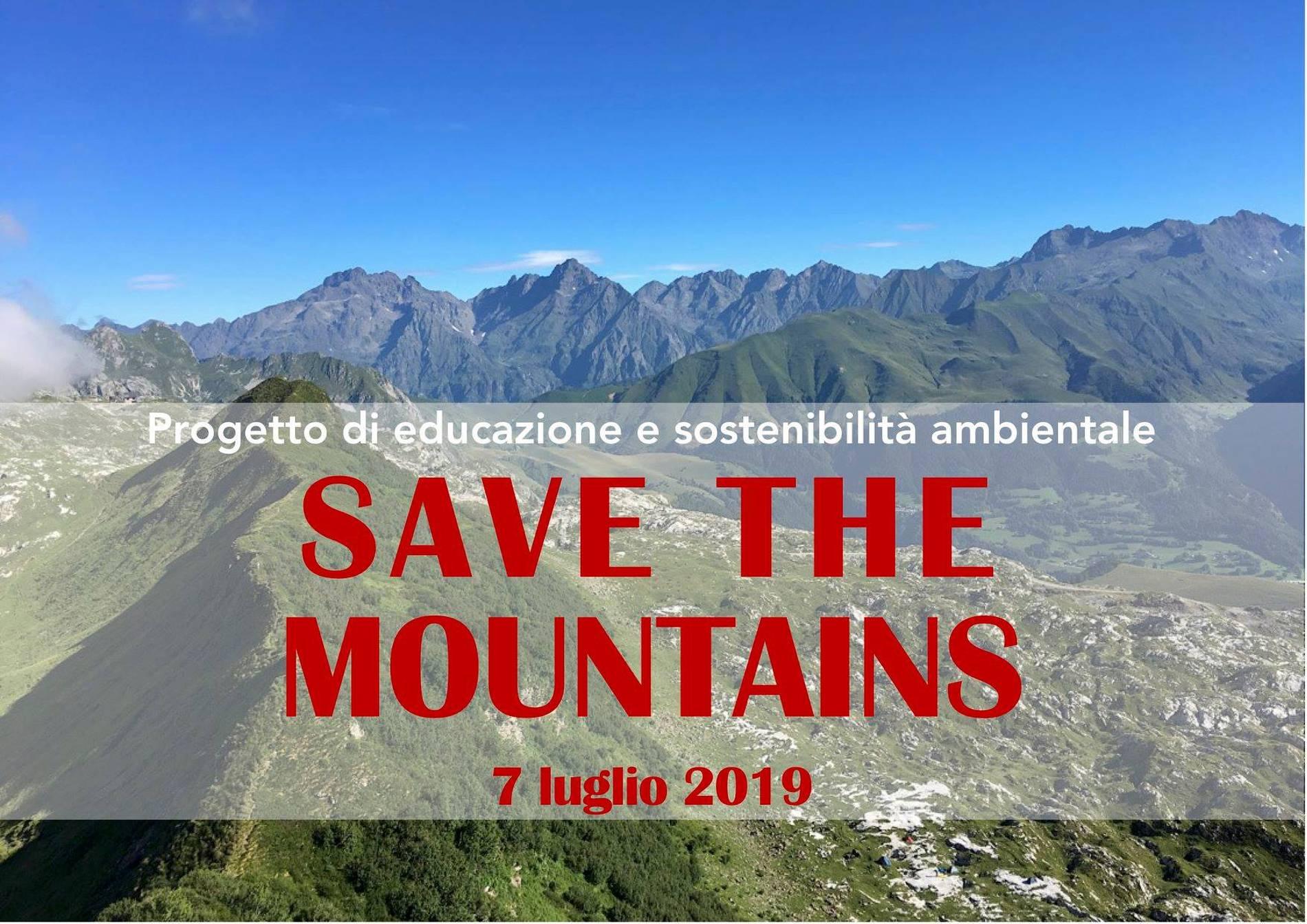 Save the Mountains, il percorso di avvicinamento alla camminata