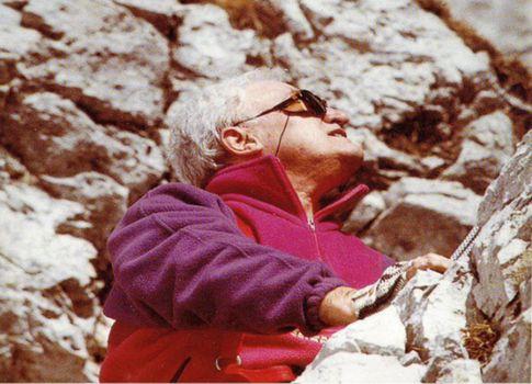 Di nuovo al Calvi, sulle orme di un alpinista coraggioso