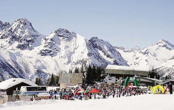Sci e snowboard benefico in Valmalenco