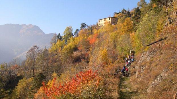 Tirano, nuovo sentiero tra Italia e Svizzera