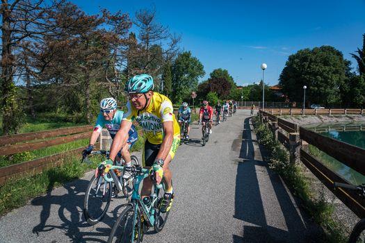 A Porto Mantovano Mangialonga in bicicletta