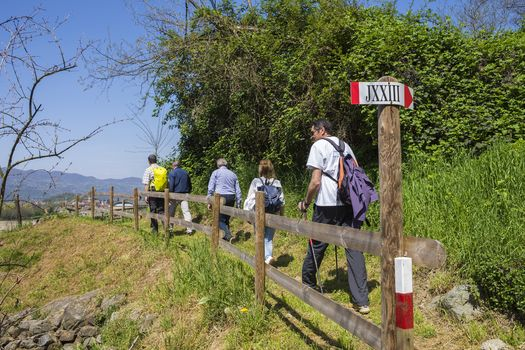 Camminata sul sentiero di Giovanni XXIII