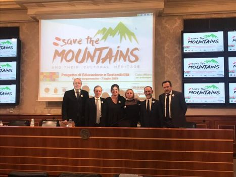 Save the mountains presentato a Roma
