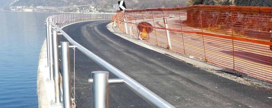 La pista ciclabile di Abbadia apre dopo un'attesa decennale