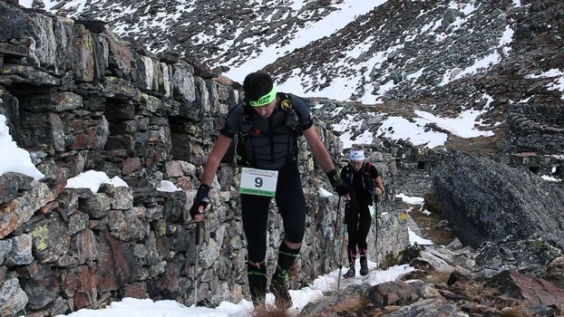 Scatta l'Adamello Ultra Trail