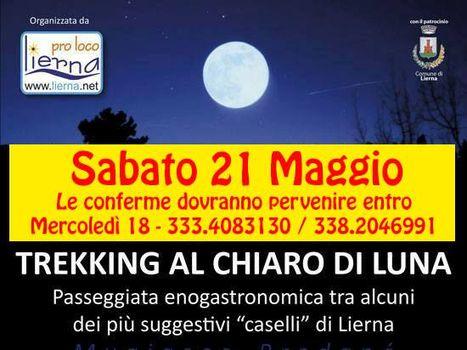 A LIERNA TREKKING AL CHIARO DI LUNA
