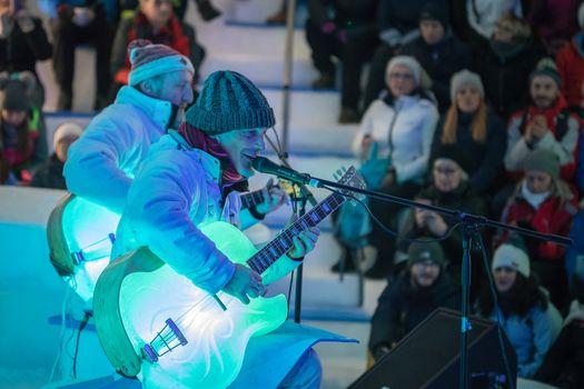 Ice Music Festival al via con la Bandabardò