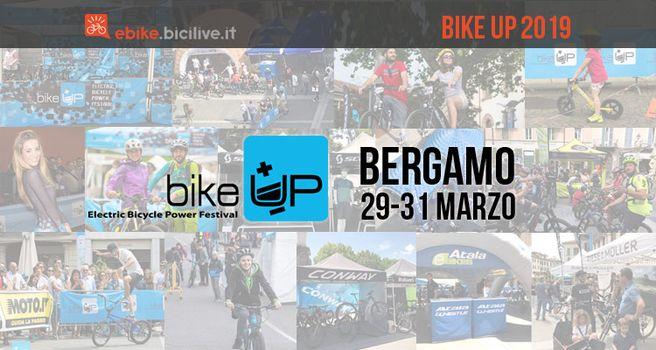 Bike Up, a fine marzo a Bergamo il festival delle bici elettriche