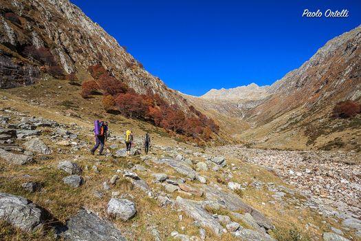 Un bel trekking fino al Cardinello