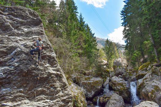Apre Gerolasass, arrampicare in val Gerola