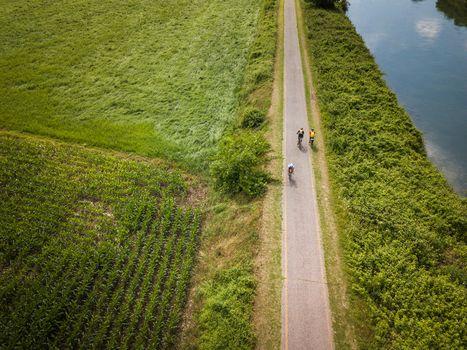 Paesaggi del Mincio da ammirare in bici
