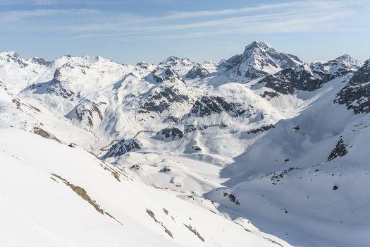 In Svizzera, sul piz d'Emmat Dadaint