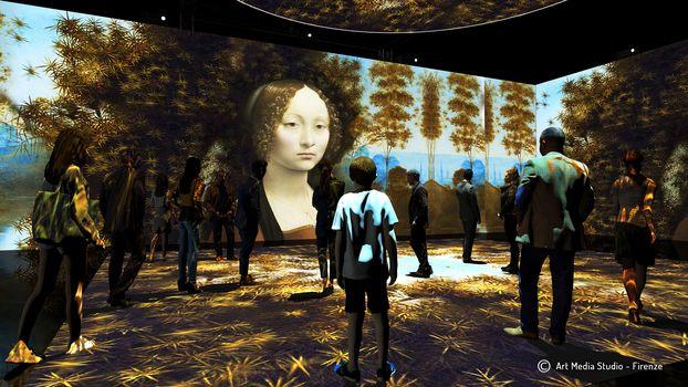 Leonardo da Vinci in mostra in 3D a Milano