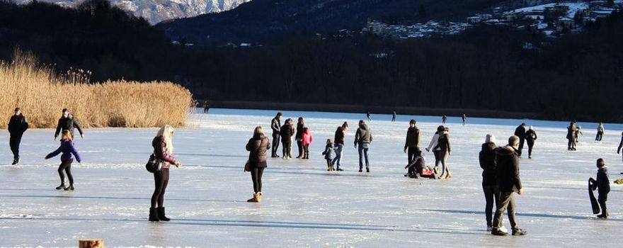 Laghi ghiacciati, belli ma pericolosi