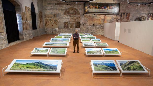 Su Bergamo Tv vi parliamo della mostra Segni e sogni d'Alpe