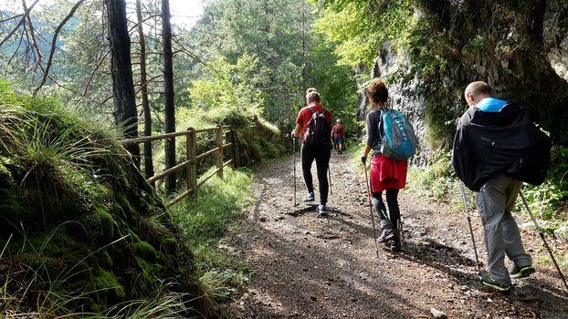 Nordic Walking in Val Vestino