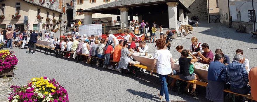 La pizzoccherata più lunga d'Italia