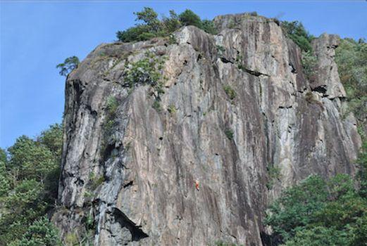 Si torna ad arrampicare sulla Caurga