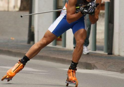 Nembro-Selvino con skiroll, handbike e di corsa