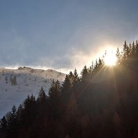 un paradiso della natura.... incontaminata, allo stato puro, e con questa neve altra magia in arrivo!