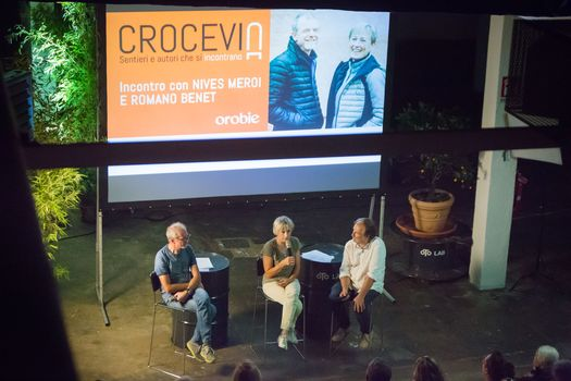 Nives Meroi e Romano Benet a Crocevia. L'intervista