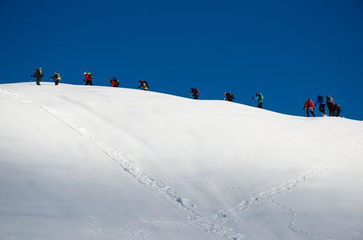 Orobie a dicembre porta in edicola la magia della neve