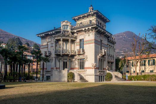 Villa Bernasconi, ha riaperto la casa che parla