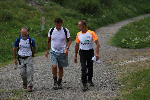 Il sindaco di Bergamo Gori al Curò per Save the mountains