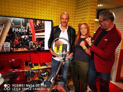 Bosatelli e Paganelli, mattinata con i campioni a Radio Alta