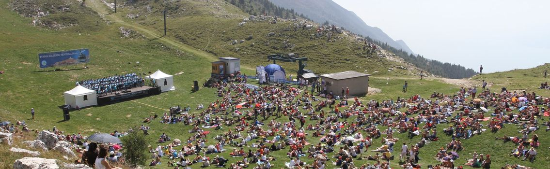 Monte Baldo, Opera ad alta quota