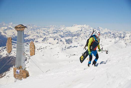 Scialpinismo: dai Forni al Tresero