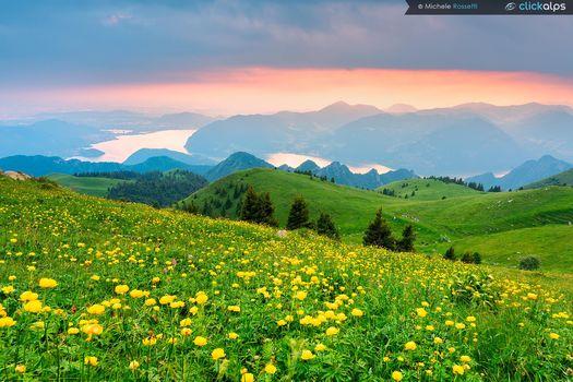 Fotografare il tramonto dal monte Guglielmo