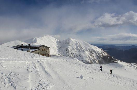 Anche d'inverno al Capanna 2.000