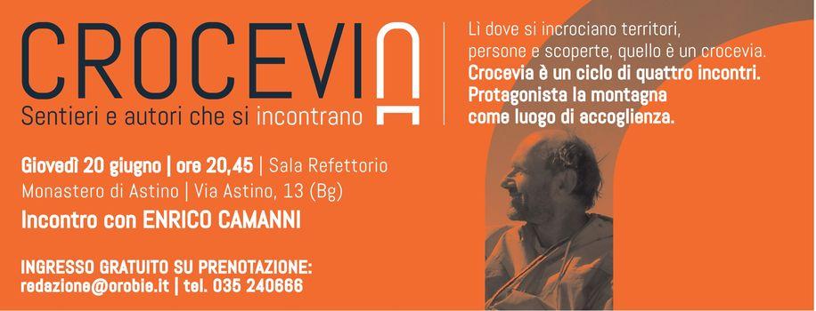 Crocevia: a Bergamo serata con Enrico Camanni