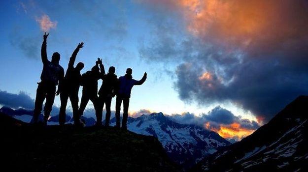 Cambiamenti climatici, in quattro dalla Valtellina a Davos con gli sci
