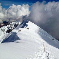Annalisa intendi quella con lo stambecco che salta ? E' in Val Zebru', tra Niblogo e le baite del pastore